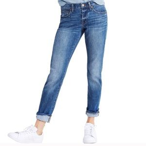 Madewell The Slim Boyjean Ankle Medium Wash 27 EUC